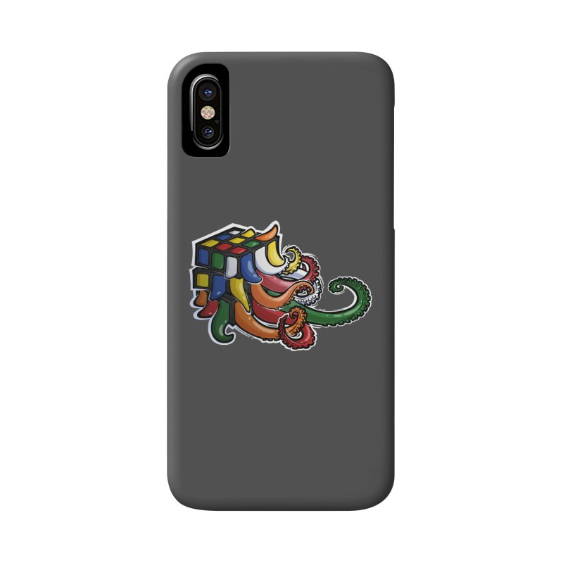 Rubik's Horror Accessories Phone Case by Marty's Artist Shop