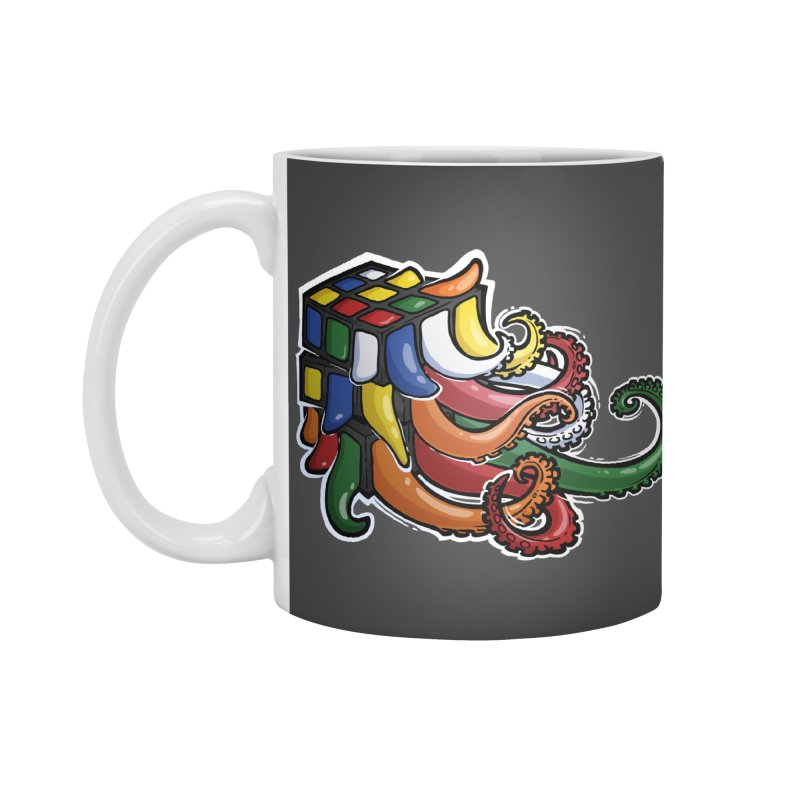 Rubik's Horror Accessories Mug by Marty's Artist Shop