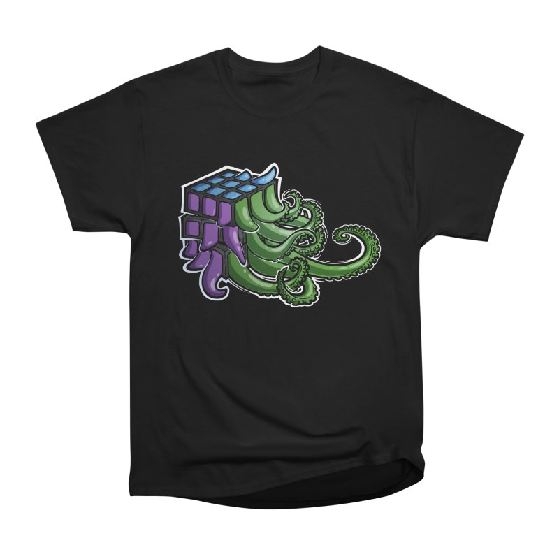 Rubik's Horror - Eldritch Edition Men's Heavyweight T-Shirt by Marty's Artist Shop
