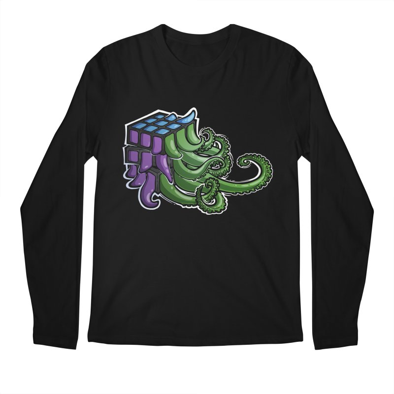 Rubik's Horror - Eldritch Edition Men's Regular Longsleeve T-Shirt by Marty's Artist Shop