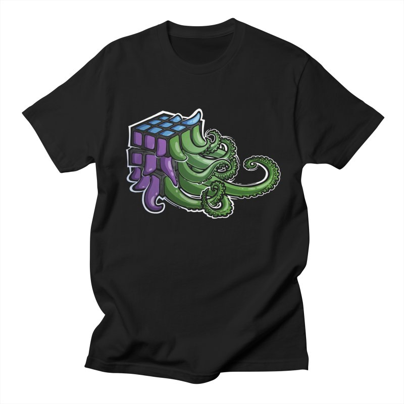 Rubik's Horror - Eldritch Edition Men's Regular T-Shirt by Marty's Artist Shop