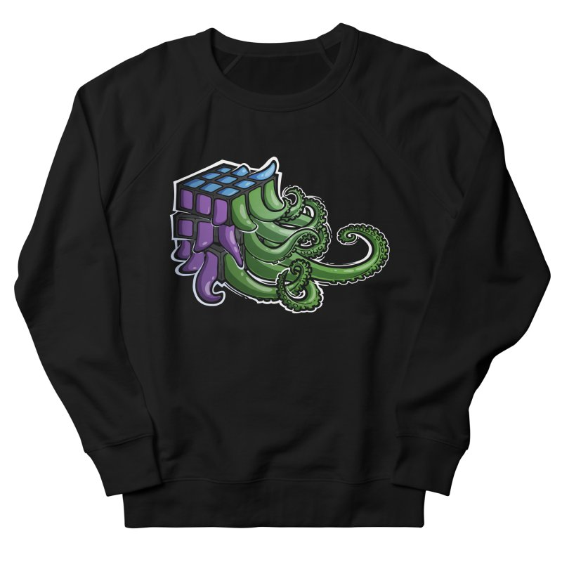 Rubik's Horror - Eldritch Edition Men's French Terry Sweatshirt by Marty's Artist Shop