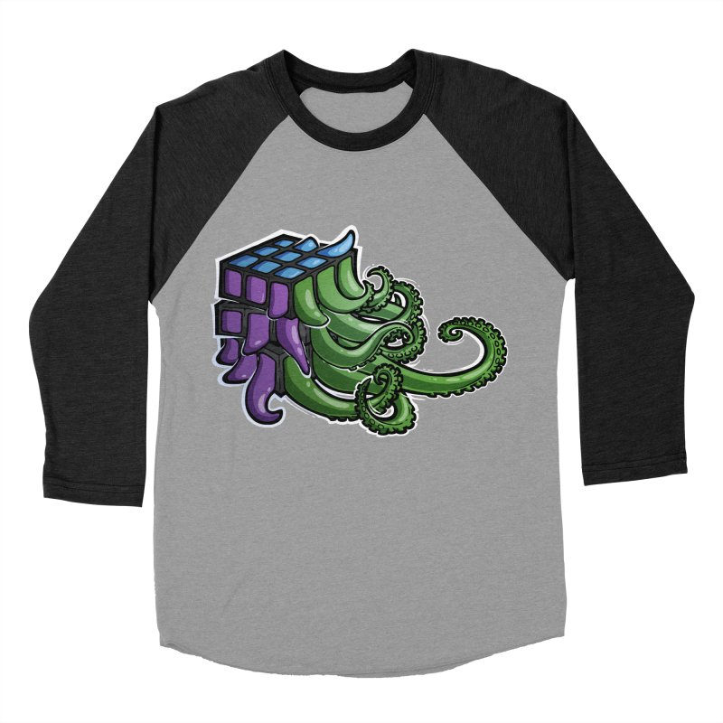 Rubik's Horror - Eldritch Edition Women's Baseball Triblend Longsleeve T-Shirt by Marty's Artist Shop