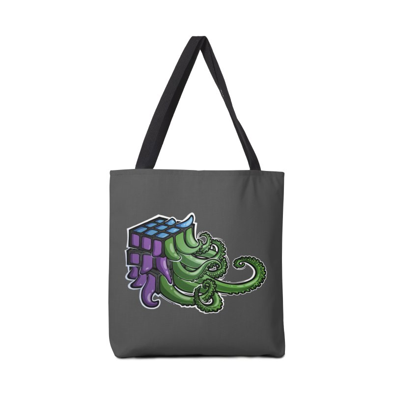 Rubik's Horror - Eldritch Edition Accessories Tote Bag Bag by Marty's Artist Shop