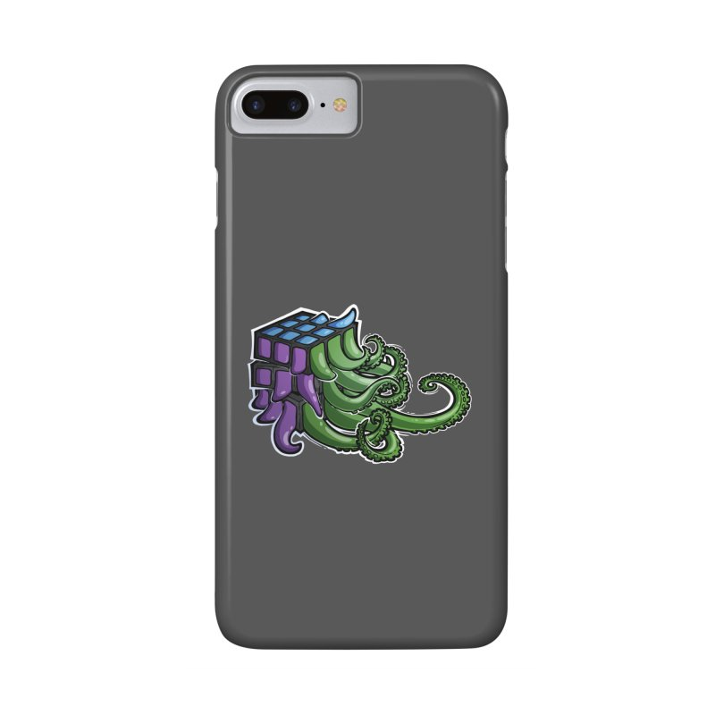 Rubik's Horror - Eldritch Edition Accessories Phone Case by Marty's Artist Shop