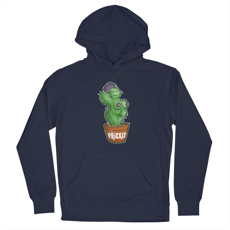 Prickly Men's Pullover Hoody by Marty's Artist Shop