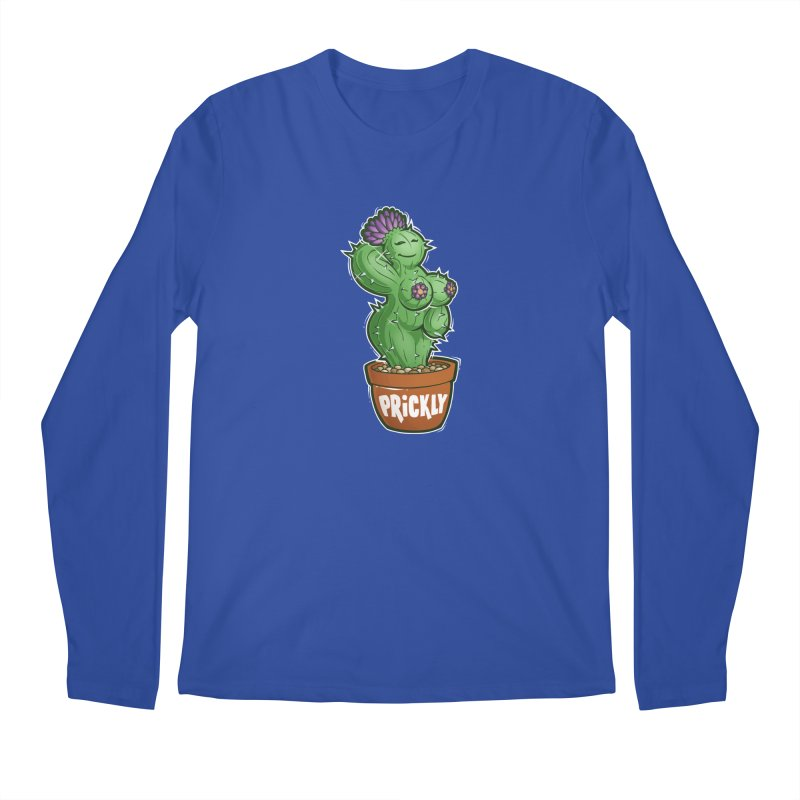Prickly Men's Longsleeve T-Shirt by Marty's Artist Shop