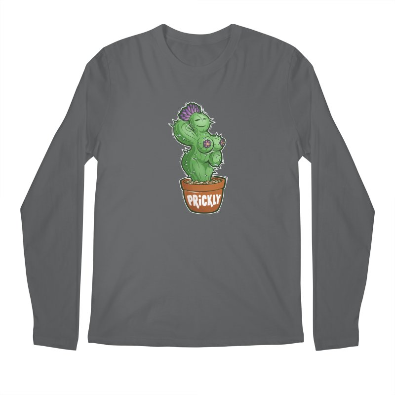 Prickly Men's Regular Longsleeve T-Shirt by Marty's Artist Shop