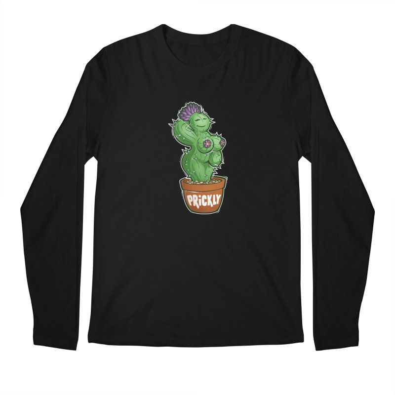 Prickly Men's Regular Longsleeve T-Shirt by Marty's Artist Shop