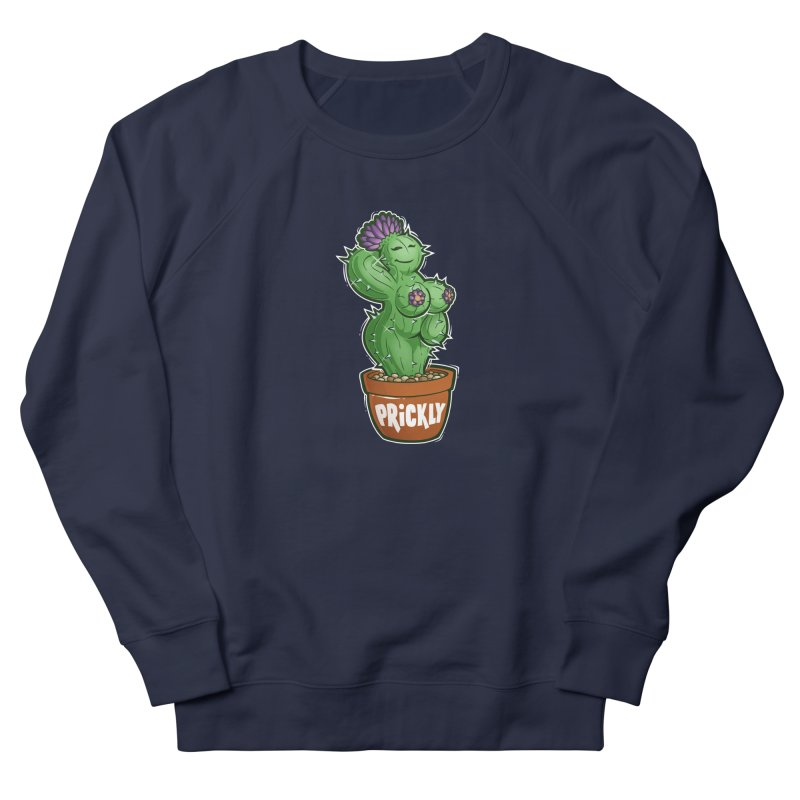 Prickly Women's French Terry Sweatshirt by Marty's Artist Shop