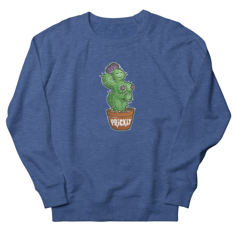 Prickly Men's French Terry Sweatshirt by Marty's Artist Shop