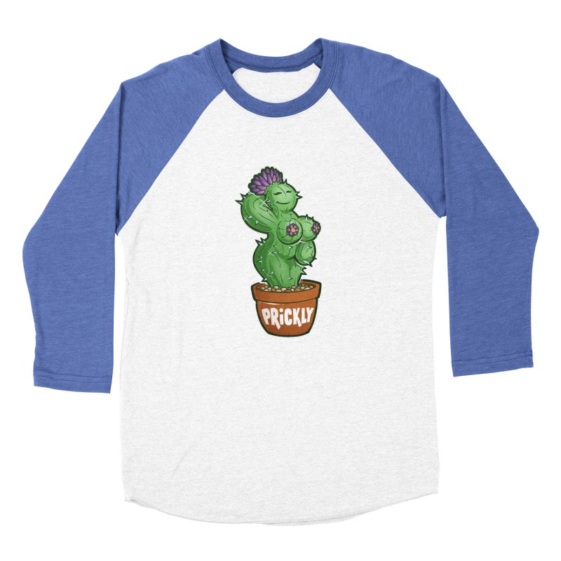 Prickly Men's Baseball Triblend T-Shirt by Marty's Artist Shop