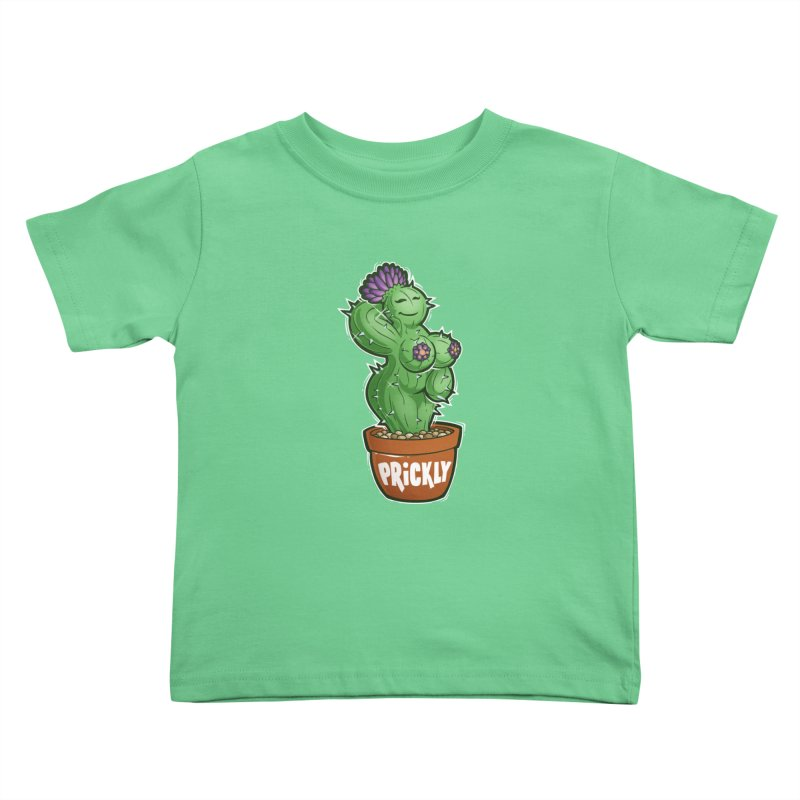 Prickly Kids Toddler T-Shirt by Marty's Artist Shop