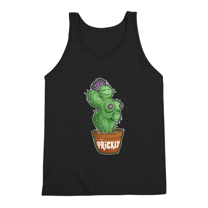 Prickly Men's Tank by Marty's Artist Shop