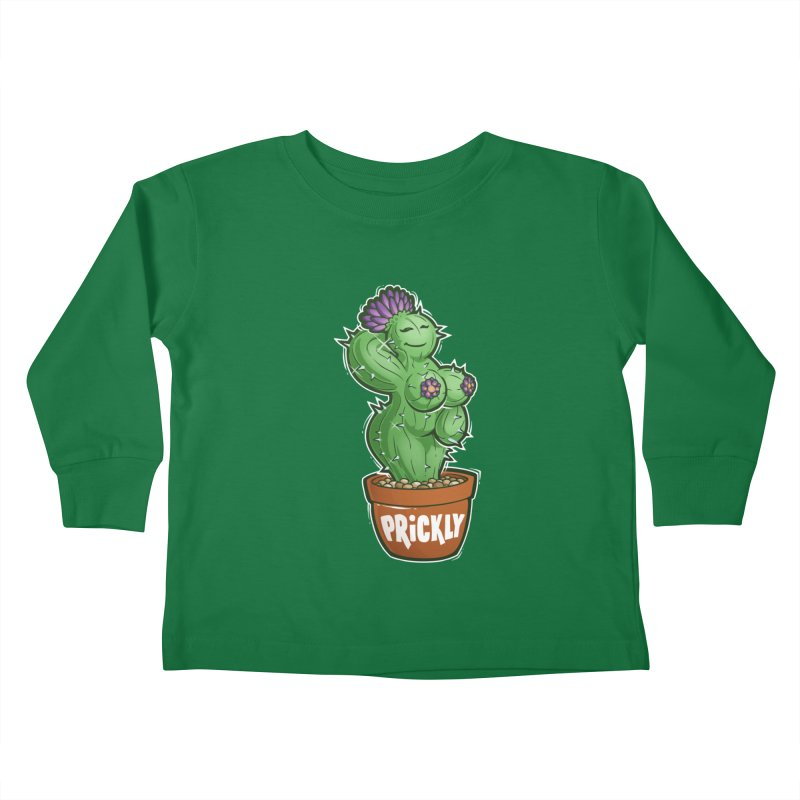 Prickly Kids Toddler Longsleeve T-Shirt by Marty's Artist Shop