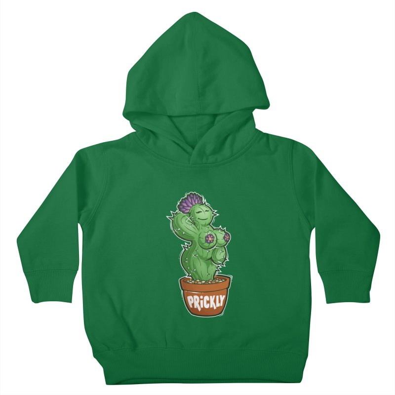 Prickly Kids Toddler Pullover Hoody by Marty's Artist Shop