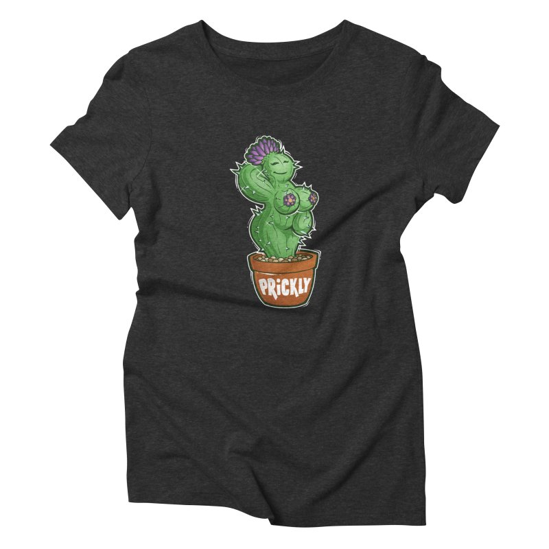 Prickly Women's Triblend T-Shirt by Marty's Artist Shop