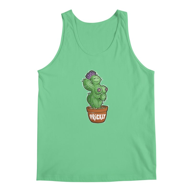 Prickly Men's Regular Tank by Marty's Artist Shop