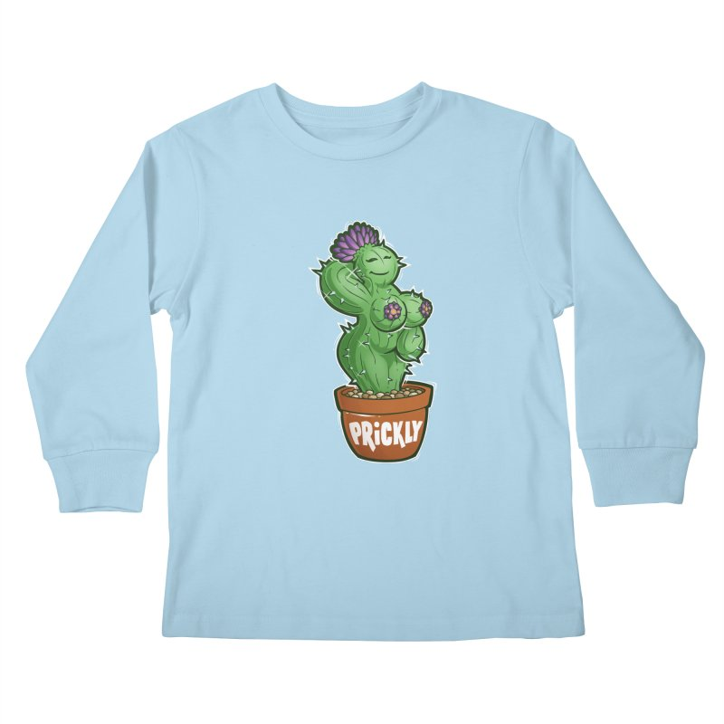 Prickly Kids Longsleeve T-Shirt by Marty's Artist Shop