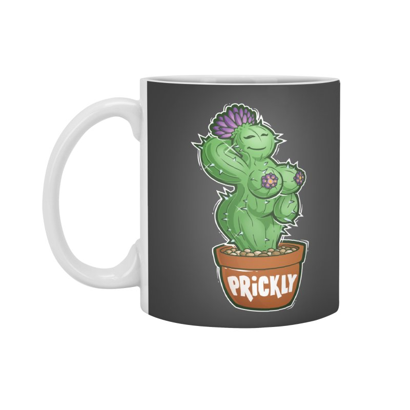Prickly Accessories Mug by Marty's Artist Shop