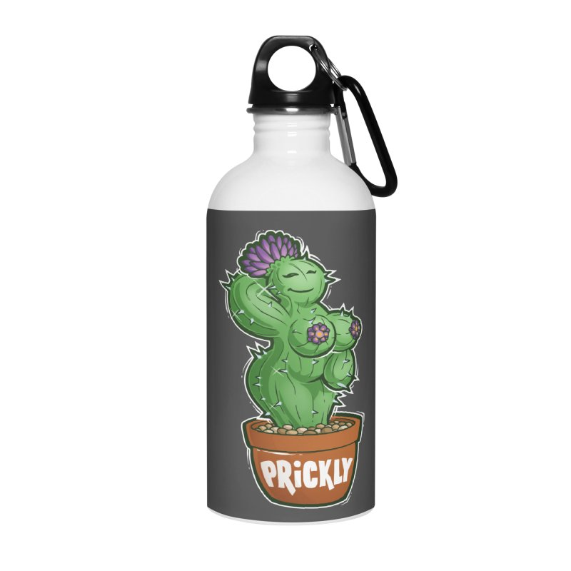 Prickly Accessories Water Bottle by Marty's Artist Shop