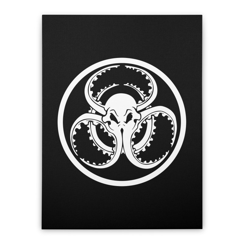 Cephalopocalypse Home Stretched Canvas by Marty's Artist Shop