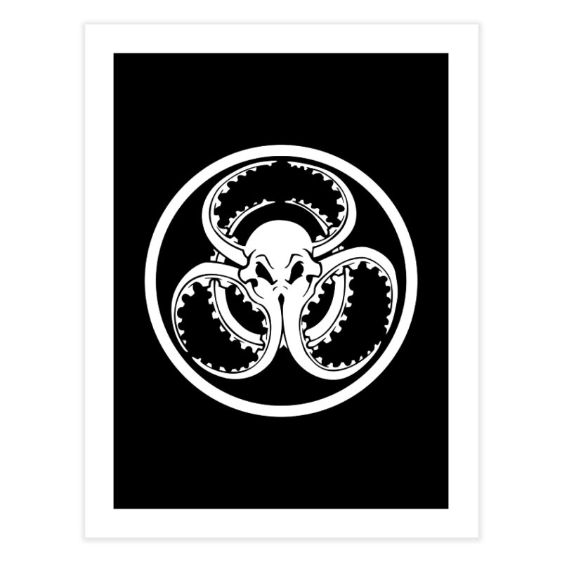 Cephalopocalypse Home Fine Art Print by Marty's Artist Shop