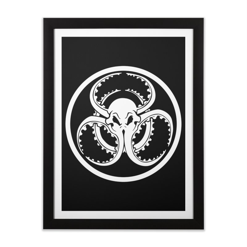 Cephalopocalypse Home Framed Fine Art Print by Marty's Artist Shop