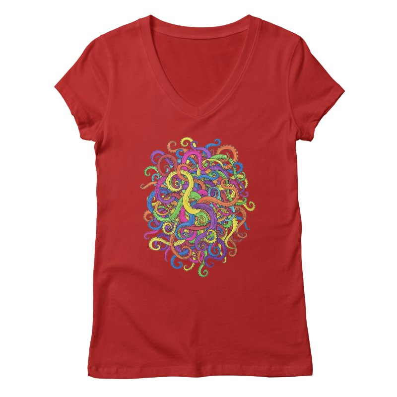 Tangled in Tentacles   by Marty's Artist Shop