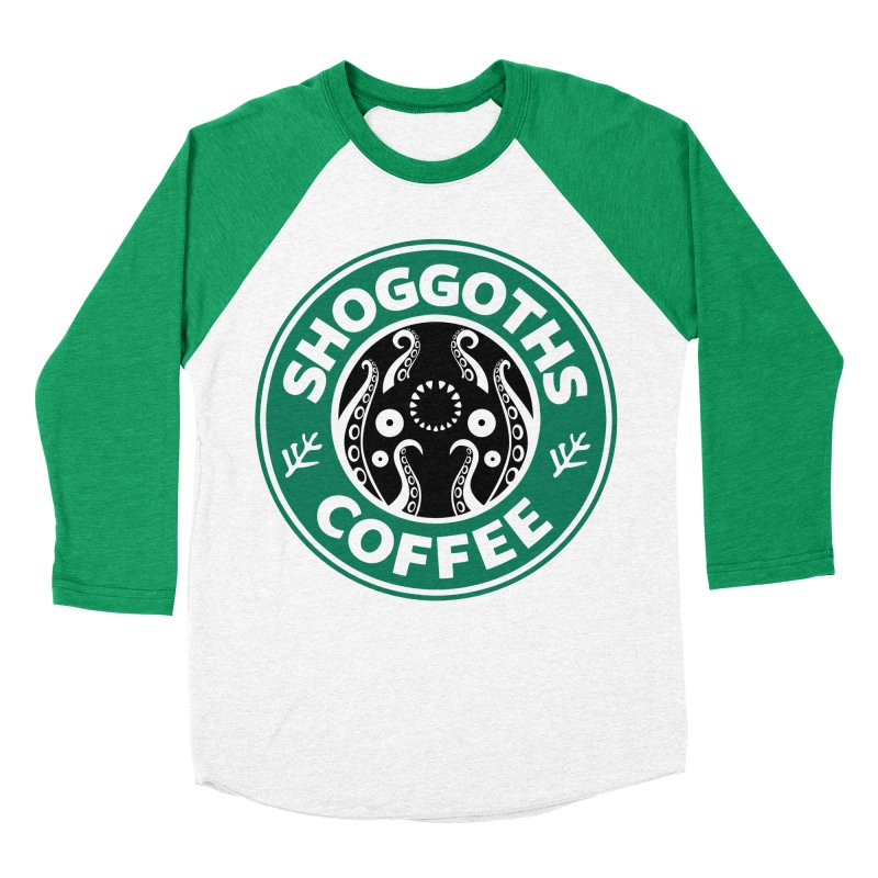 Shoggoths Coffee Women's Baseball Triblend Longsleeve T-Shirt by Marty's Artist Shop