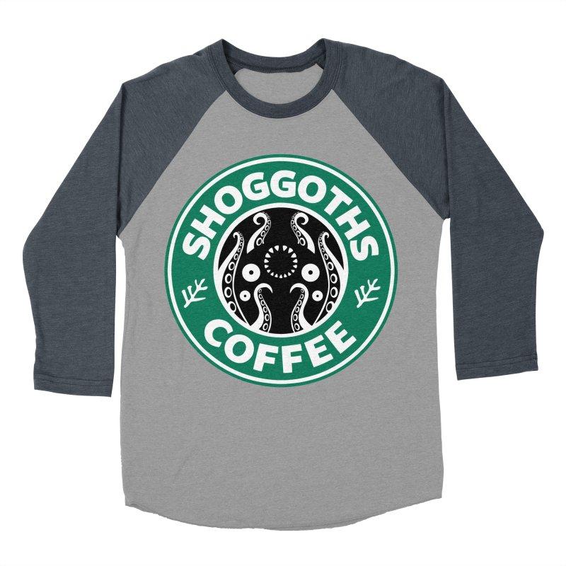 Shoggoths Coffee Women's Baseball Triblend T-Shirt by Marty's Artist Shop