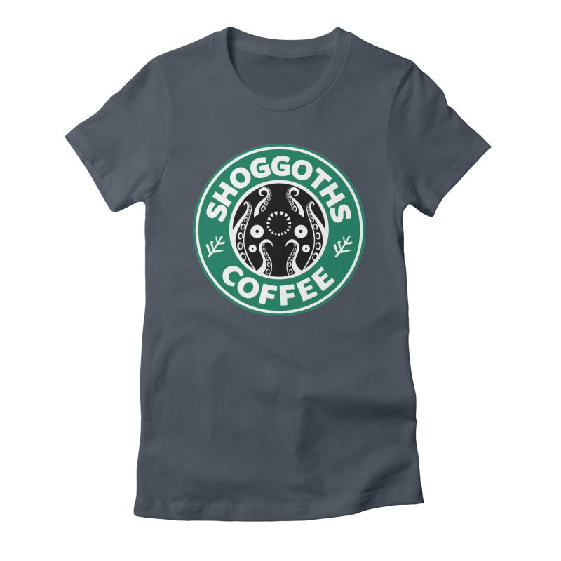 Shoggoths Coffee Women's T-Shirt by Marty's Artist Shop