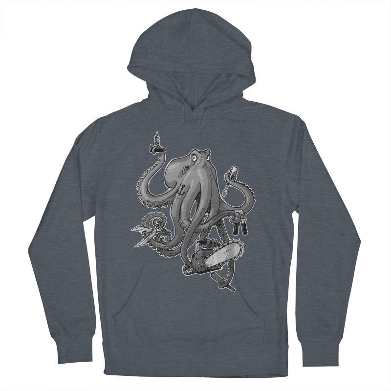 Swiss Army Octopus, B&W   by Marty's Artist Shop