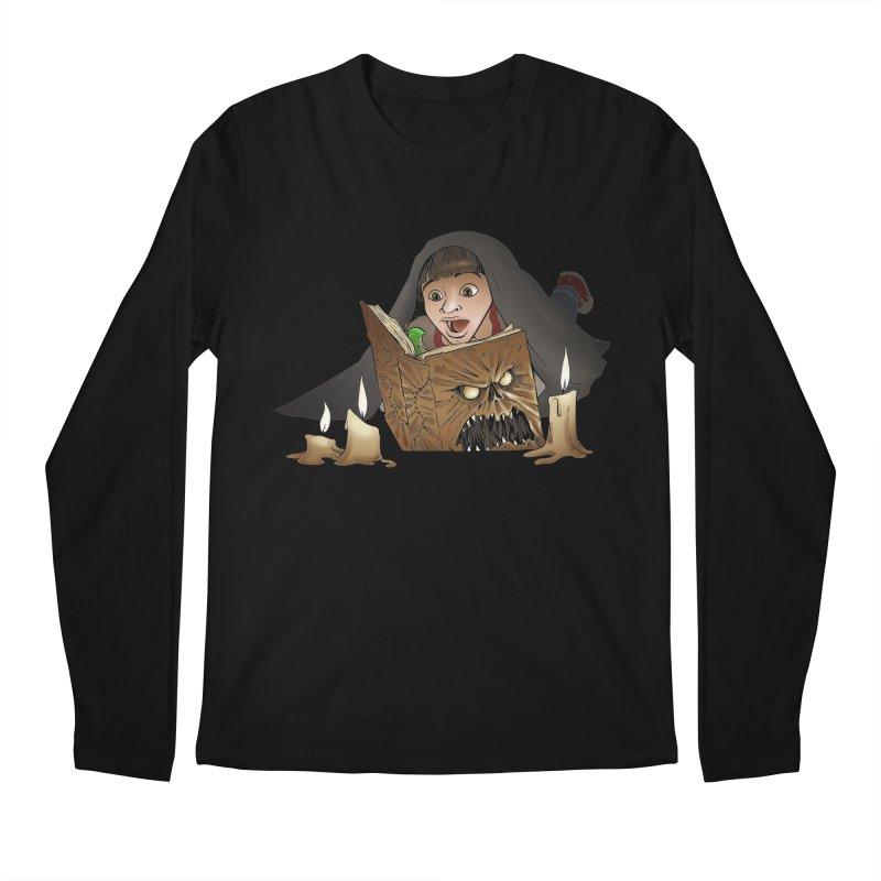 Neverending Horror Men's Longsleeve T-Shirt by Marty's Artist Shop