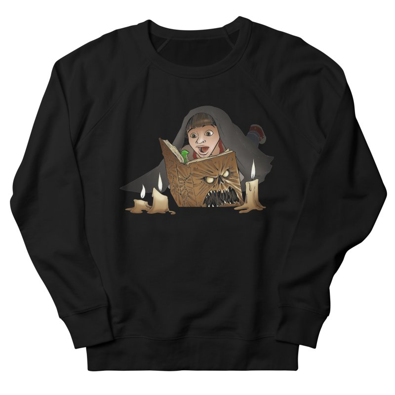 Neverending Horror Men's Sweatshirt by Marty's Artist Shop