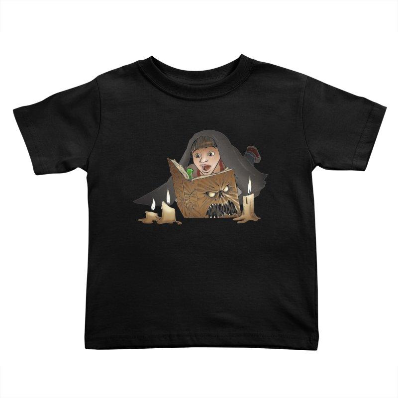 Neverending Horror Kids Toddler T-Shirt by Marty's Artist Shop