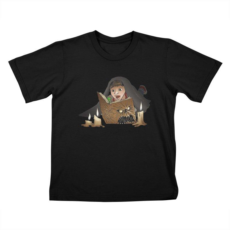 Neverending Horror Kids T-Shirt by Marty's Artist Shop