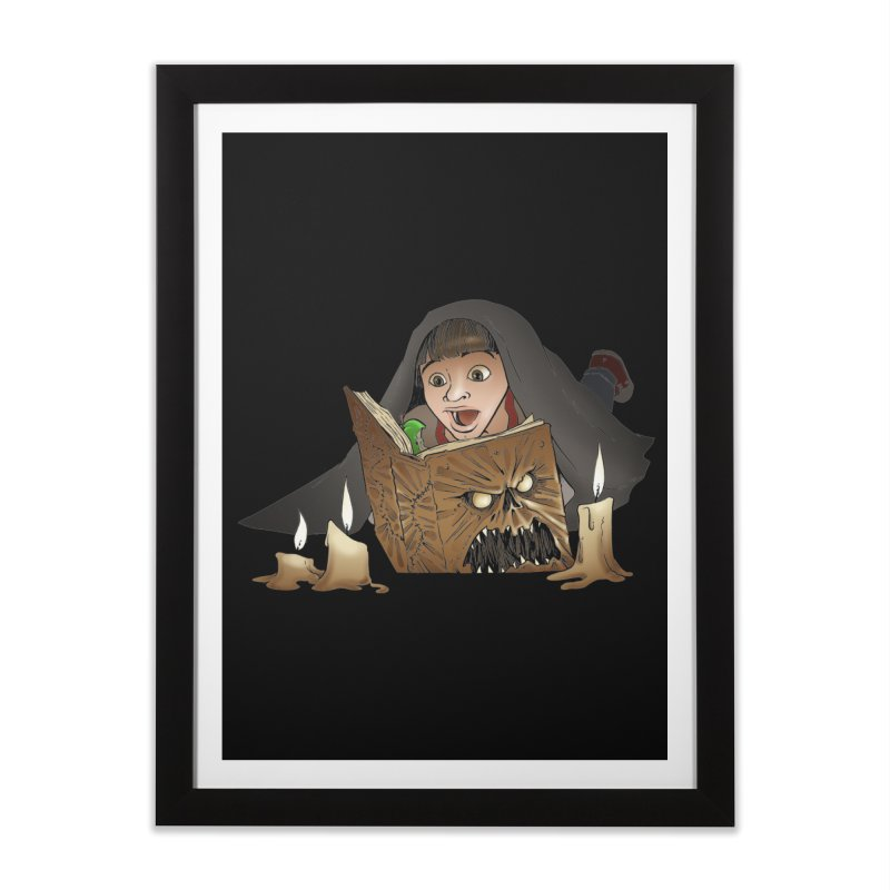 Neverending Horror Home Framed Fine Art Print by Marty's Artist Shop