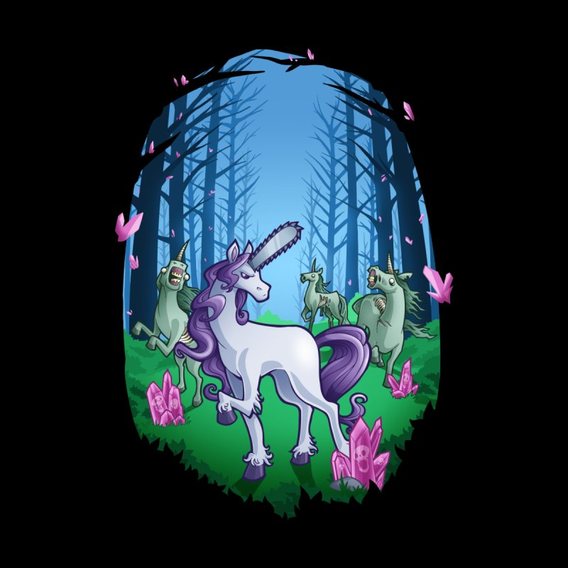 Chainsaw Unicorn Kids Baby T-Shirt by Marty's Artist Shop