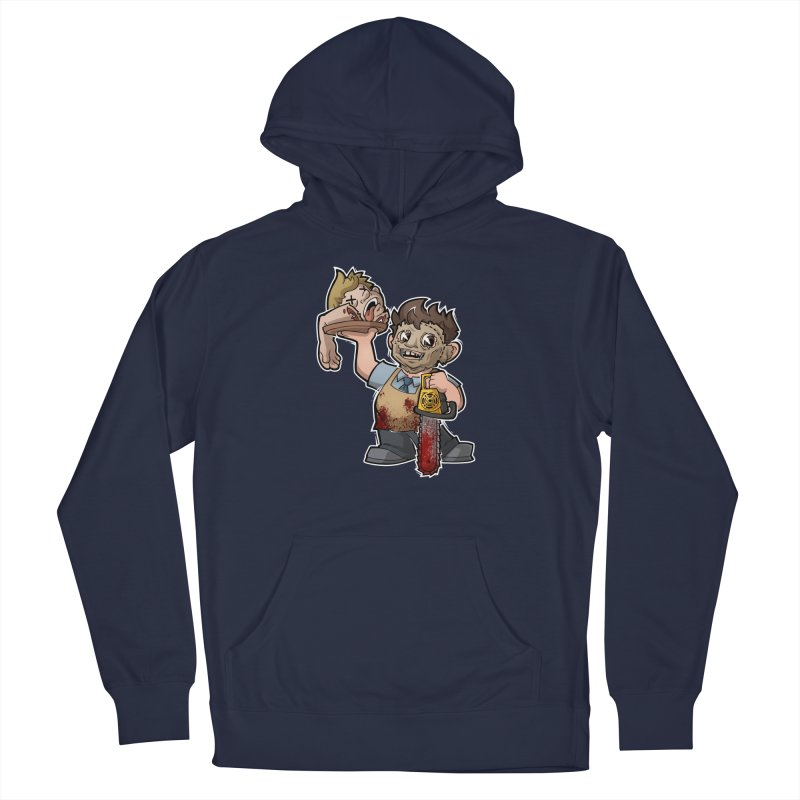 Texas Chainsaw Drive Thru Men's Pullover Hoody by Marty's Artist Shop