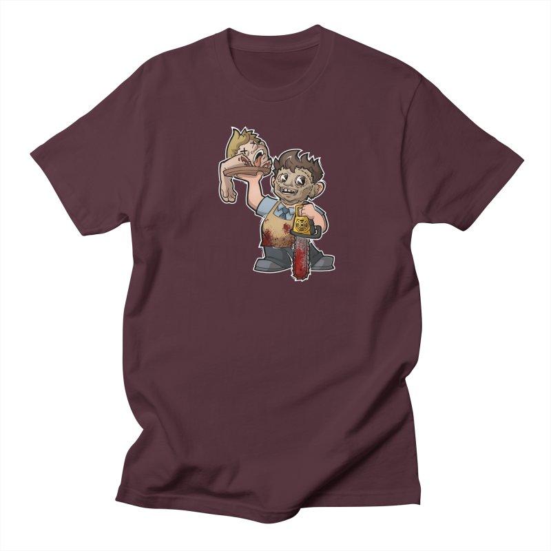 Texas Chainsaw Drive Thru Men's T-Shirt by Marty's Artist Shop