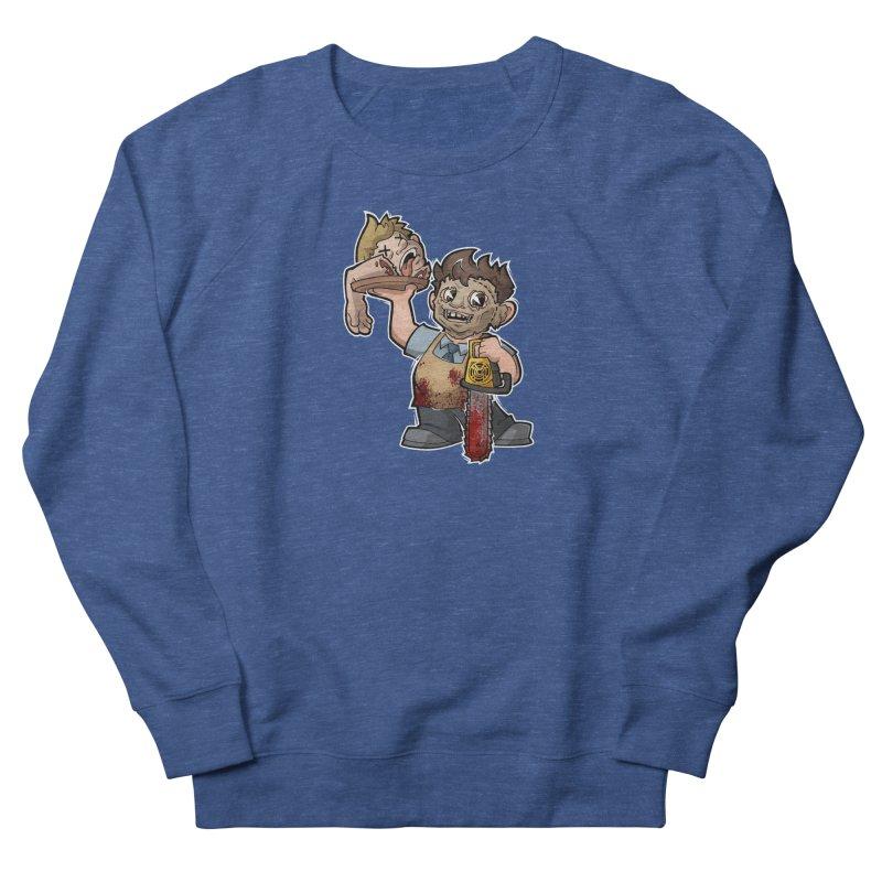 Texas Chainsaw Drive Thru Men's Sweatshirt by Marty's Artist Shop