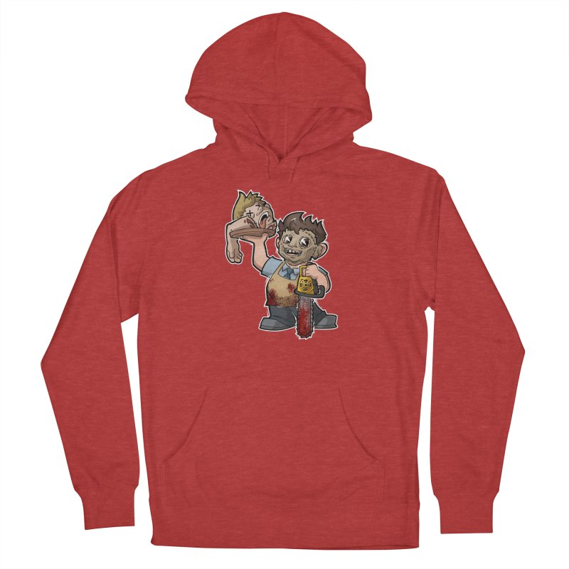 Texas Chainsaw Drive Thru Women's French Terry Pullover Hoody by Marty's Artist Shop