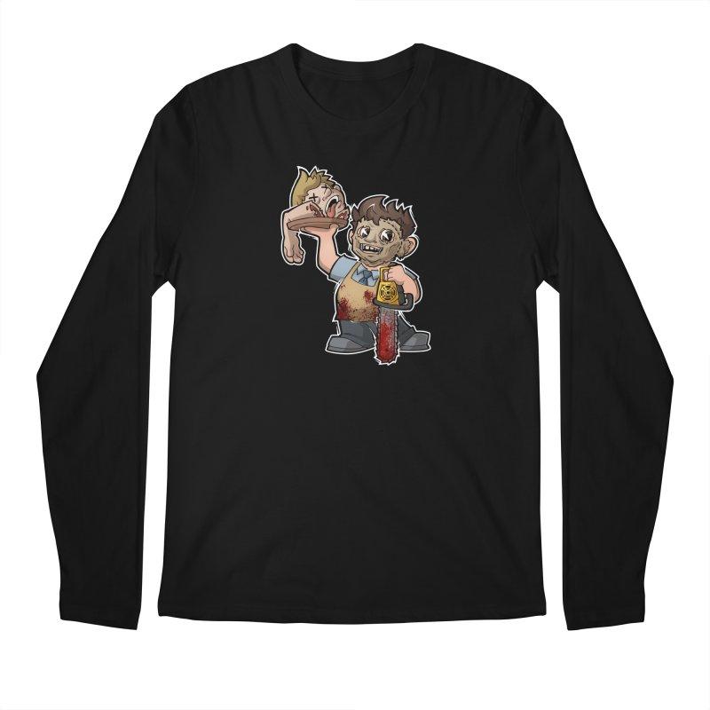 Texas Chainsaw Drive Thru Men's Regular Longsleeve T-Shirt by Marty's Artist Shop