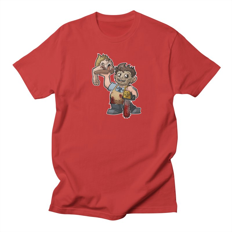 Texas Chainsaw Drive Thru Women's Regular Unisex T-Shirt by Marty's Artist Shop