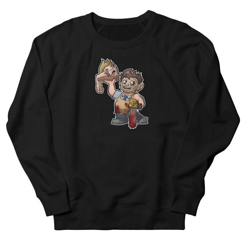 Texas Chainsaw Drive Thru Women's French Terry Sweatshirt by Marty's Artist Shop