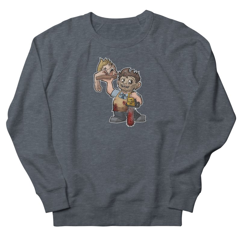 Texas Chainsaw Drive Thru Men's French Terry Sweatshirt by Marty's Artist Shop
