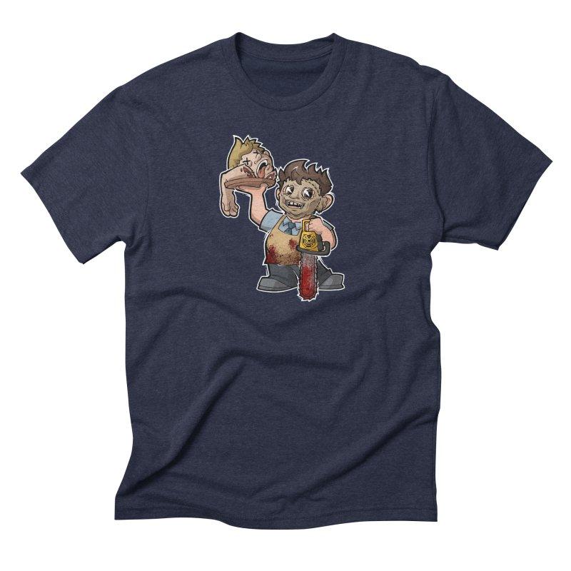 Texas Chainsaw Drive Thru Men's Triblend T-Shirt by Marty's Artist Shop