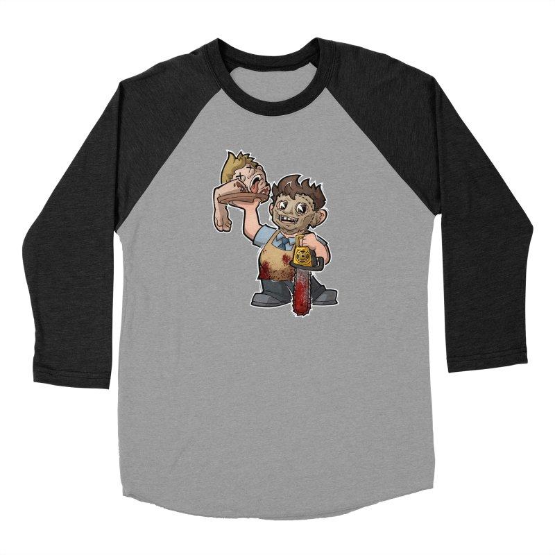 Texas Chainsaw Drive Thru Men's Baseball Triblend Longsleeve T-Shirt by Marty's Artist Shop