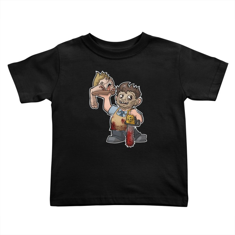 Texas Chainsaw Drive Thru Kids Toddler T-Shirt by Marty's Artist Shop
